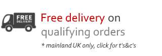free UK delivery on small items over £75