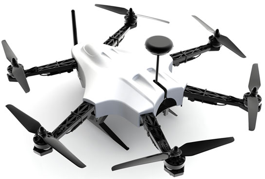 T-Drones Smart H Hexacopter - Frame (A)