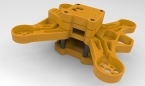 Gravity 180 FPV Racing Frame Yellow