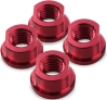 M5 Prop Nuts x 4 - Red - CW
