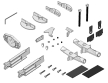 Multiplex EasyCub - Small Parts Set