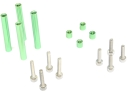 RaGG-e WBX Standoff/Screw Pack - Green