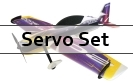 Servo Set For RC Factory 1200mm Models