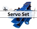 Servo Set For TH Fokker Triplane