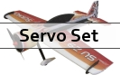 Servo Set for RC Factory 1000mm Models