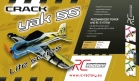 Twisted Hobbys Crack Yak 55 Lite - Blue/Yellow image #2